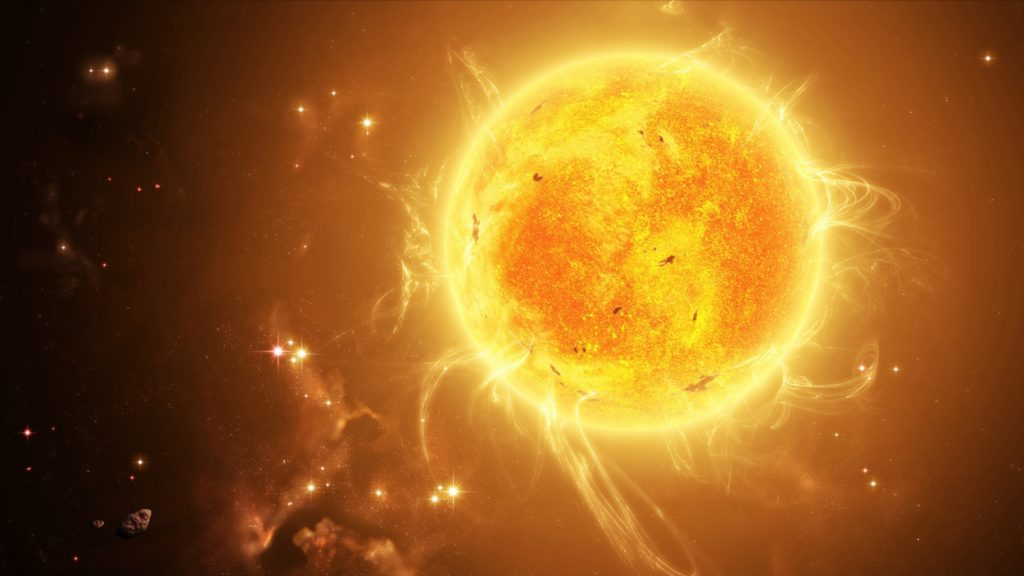Sun's Solar Storms and Human Biological Effects