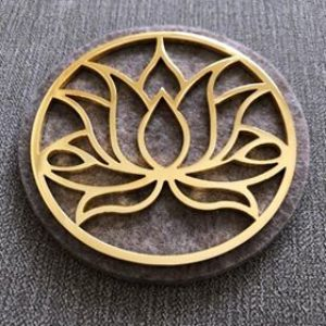 Lotus Flower Tool  Gold 24k Tool