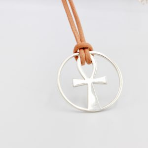 Ankh Necklace Sterling Silver